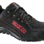 Sparco s0751744nrnr Practice Schuh, Schwarz, Größe 44