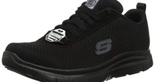 Skechers Herren Flex Advantage Bendon Sneaker Schwarz Black MeshWater 310x165 - Skechers Herren Flex Advantage- Bendon Sneaker, Schwarz (Black Mesh/Water & Stain Repellent Treatment Blk), 44 EU